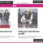 ian erix placement on front page of female first uk1